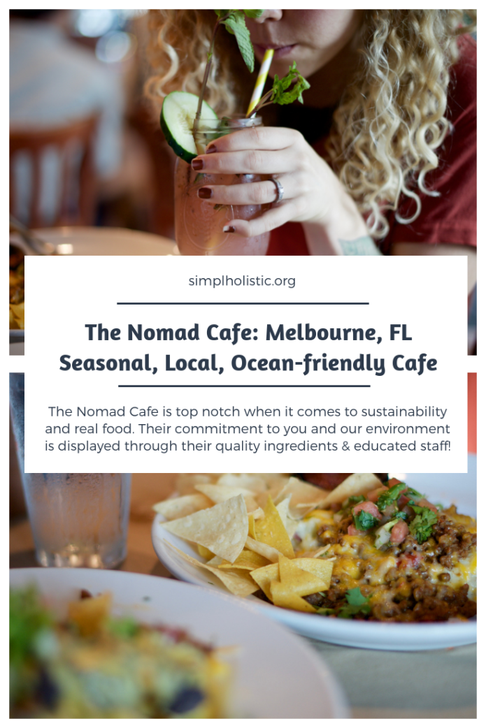 The Nomad Cafe in Melbourne, Florida is a must for your next Florida vacation. I ate their with a gluten allergy, my husband with a dairy allergy and us both with a passion for our ocean and was very well pleased!